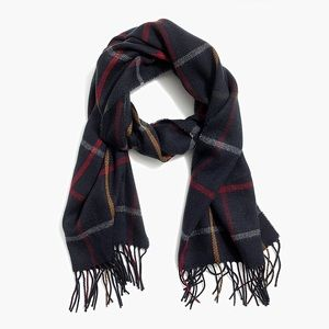 J. Crew window pane scarf